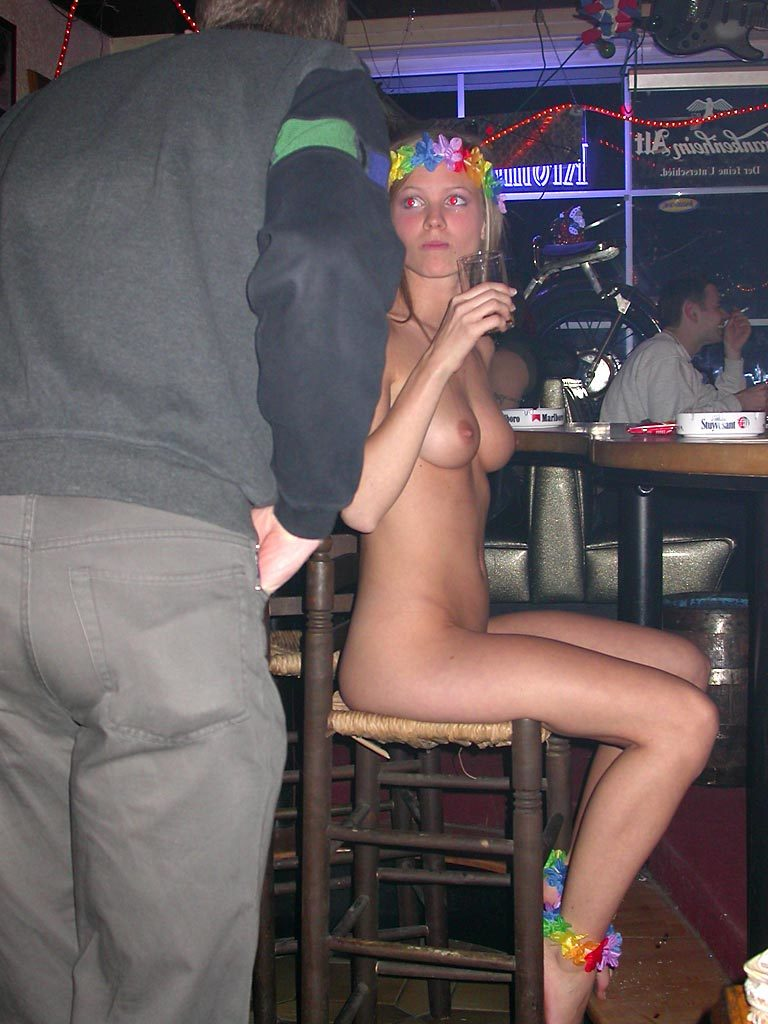 Only One Naked in a Bar