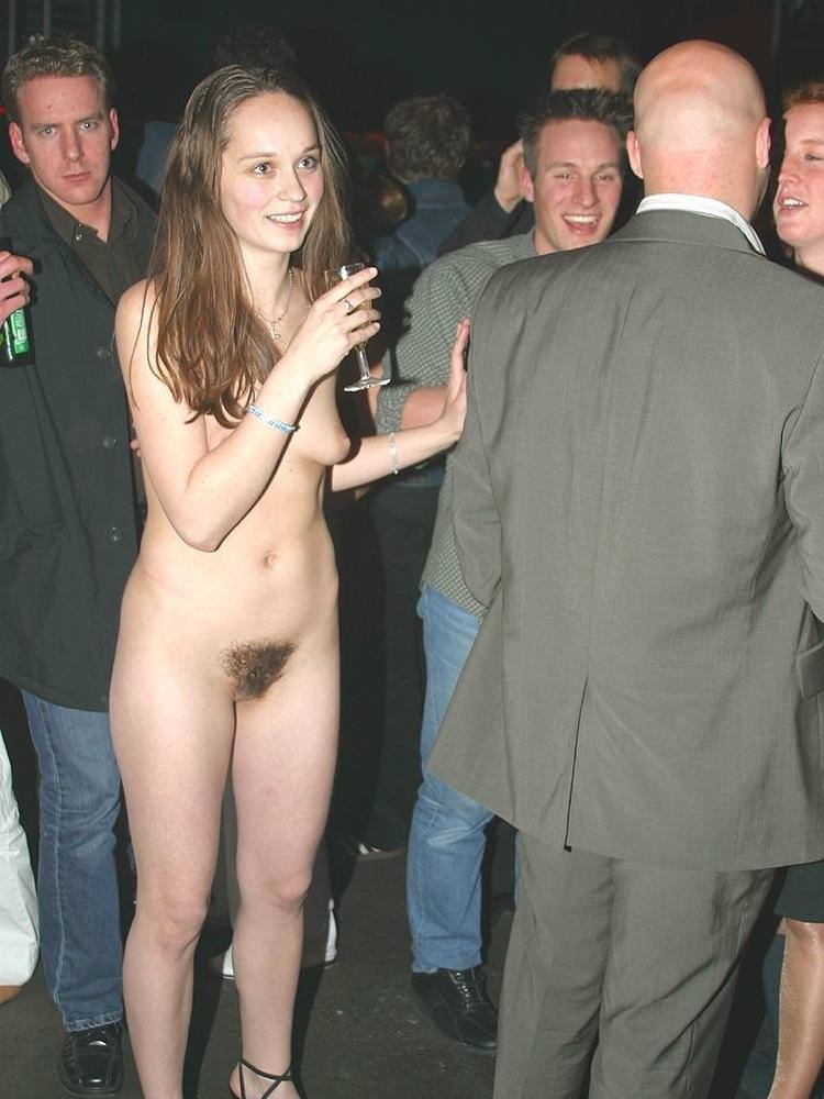 Only one Naked at a Party
