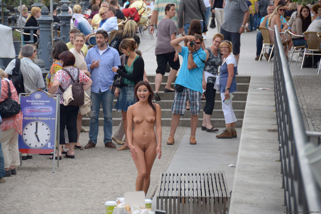 Only One Naked in Public